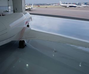 Airplane Hangar Flooring
