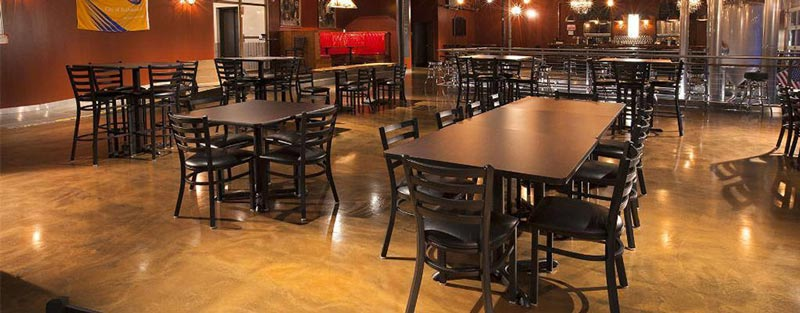 Restaurant Concrete Flooring