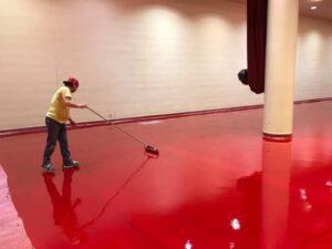 Monona Terrace Floor Coating