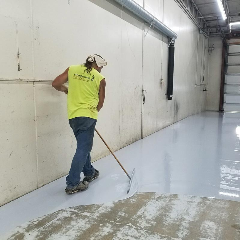 Coating Concrete Floor