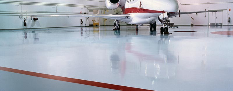 Advantage Coating Airplane Hangar