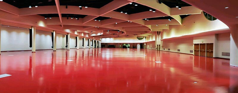 Monona Terrace Commercial Flooring