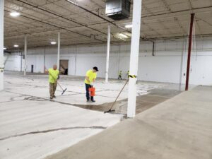 Concrete Floor Preparation