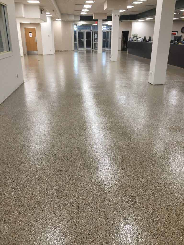 auto auction flooring