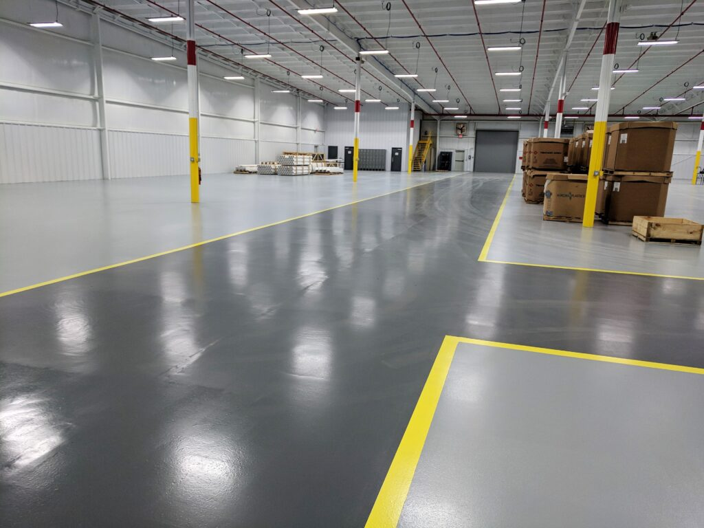 gsi industrial concrete floor coating
