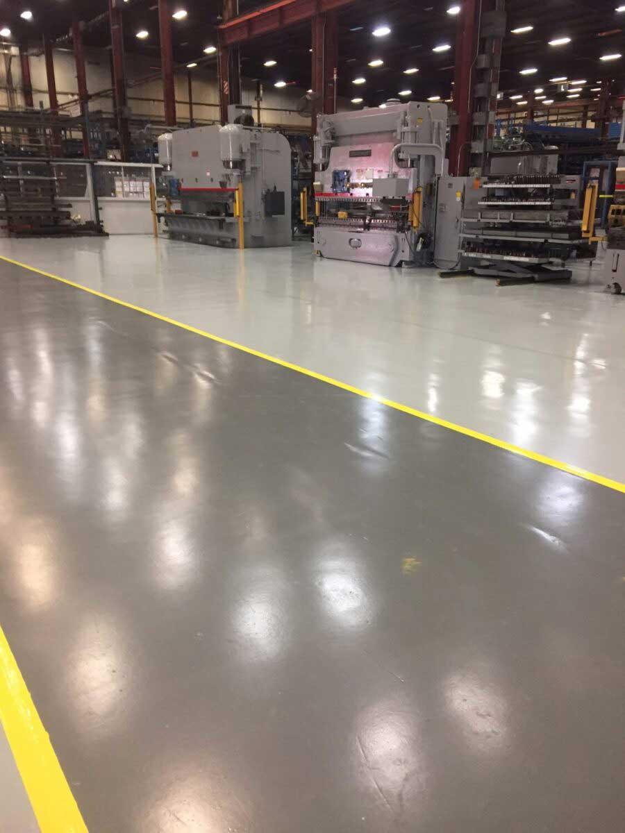 Industrial Concrete Flooring in St Cloud Minnesota