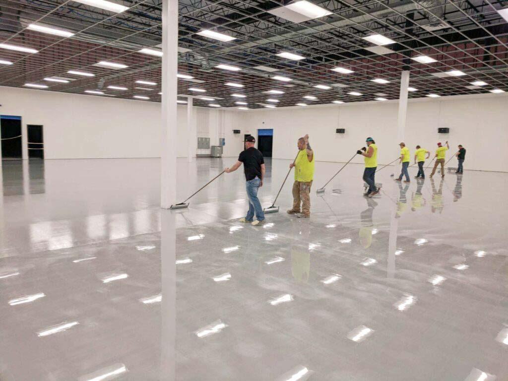 commercial epoxy flooring iowa