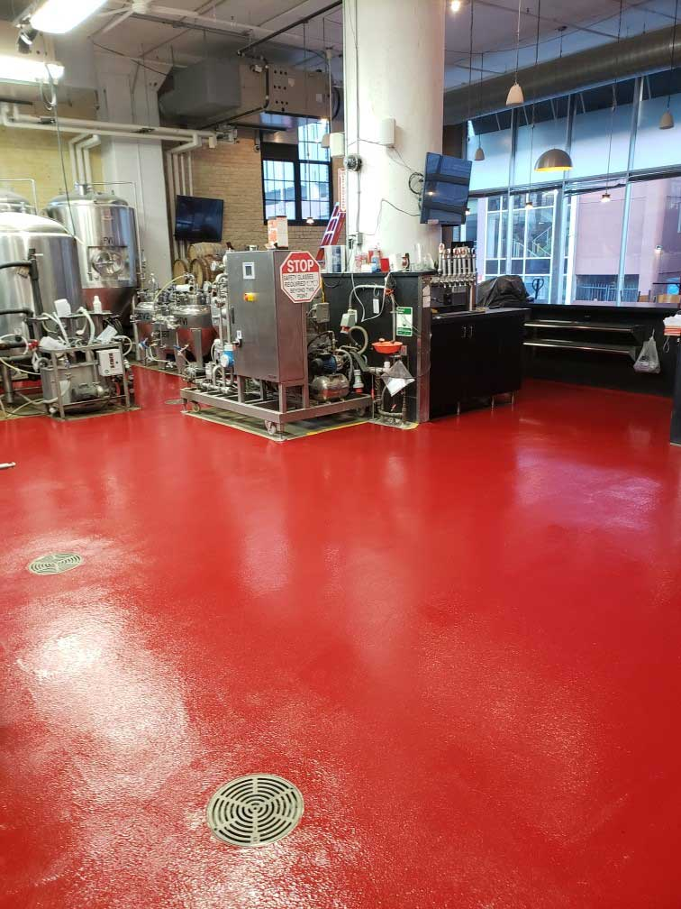 industrial concrete floor coatings cedar rapids