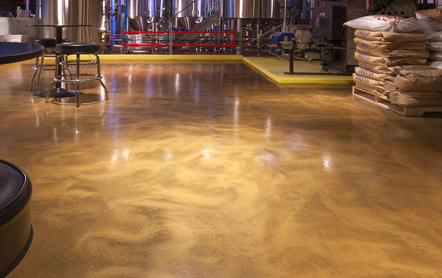 wicked wort brewery flooring2