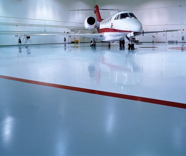 Airplane Hangar Flooring