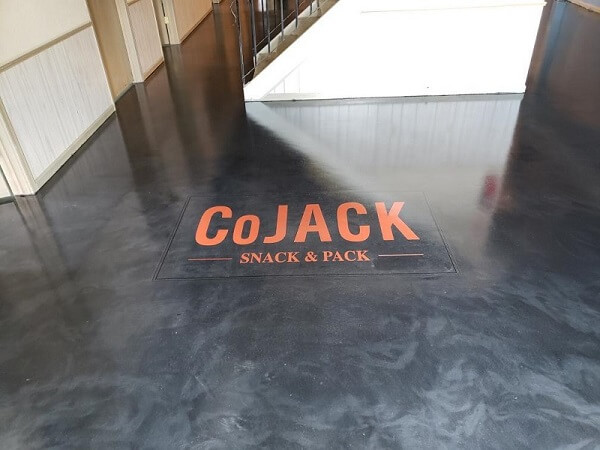 CoJack Metallic Flooring commercial decorative concrete floors cedar rapids