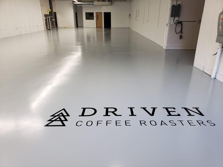 commercial decorative concrete floors