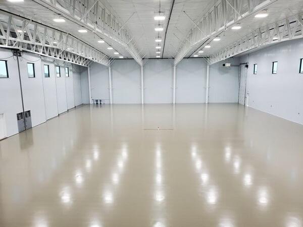 Berg Hangar Flooring