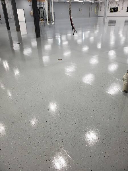 TE Connectivity Floor Coating
